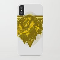 hawk iPhone & iPod Cases featuring Hawk by Joe Baron
