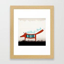 Wild Through & Through Framed Art Print