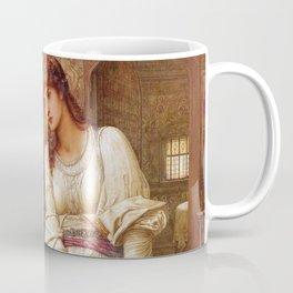 "John Melhuish Strudwick ""Elaine"" Coffee Mug"