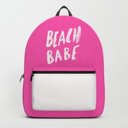 Beach Babe x Flamingo Pink Backpack