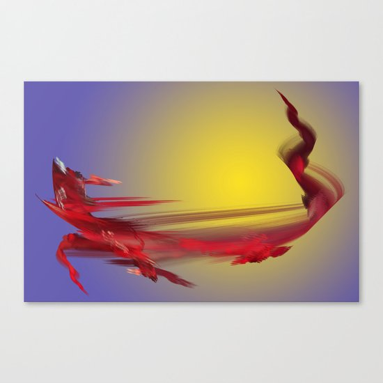 Dragon of Tenerife Canvas Print
