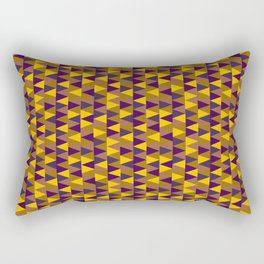 Funky Triangles Rectangular Pillow