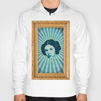 leia Hoodies featuring Leia by Durro