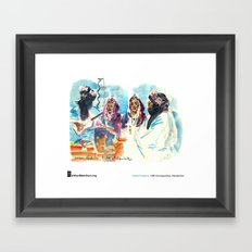 "Isabel Fiadeiro, ""Singing About Exile, Touaregs"" Framed Art Print"