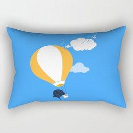 In-flight incident Rectangular Pillow