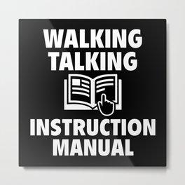 Instruction Manual Metal Print