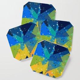 Spring Confetti Coaster