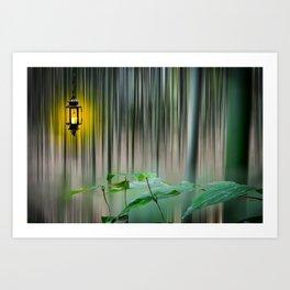 Motion Blur Art Print