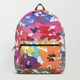 Bright Summer Garden Backpack