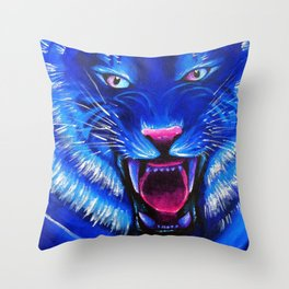 Beast from Another World Throw Pillow