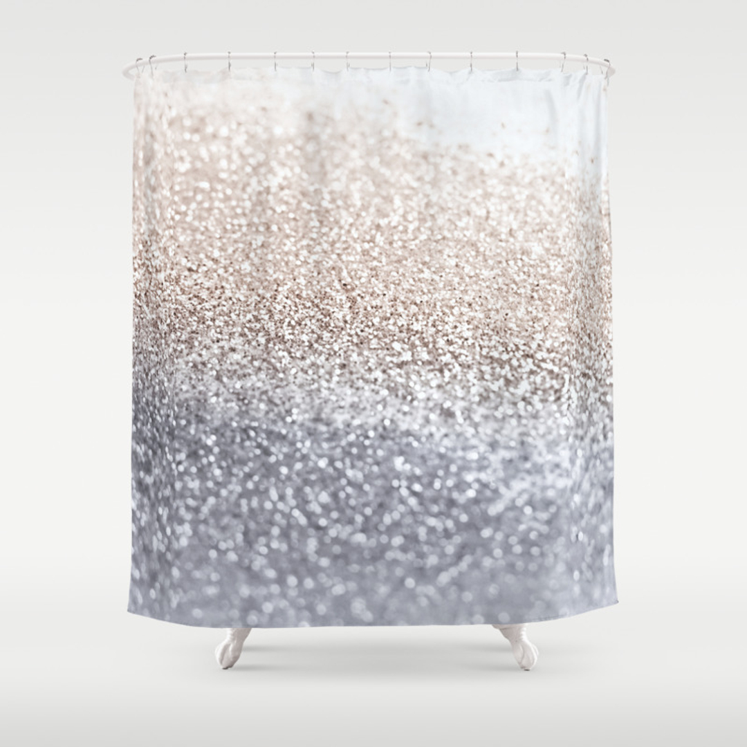 Light pink shower curtain - Light Pink Shower Curtain 13