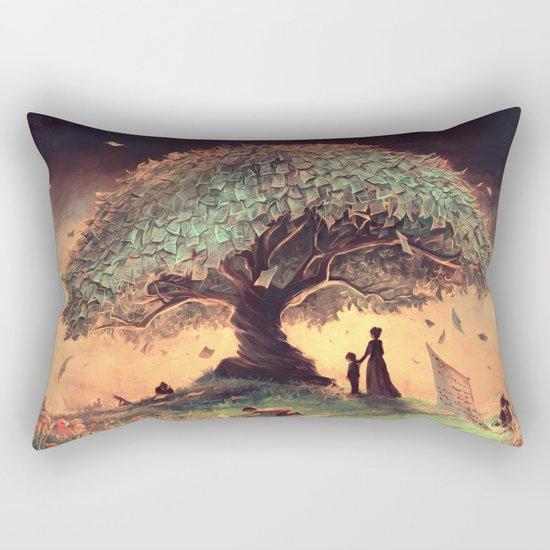 Follow our rules Rectangular Pillow
