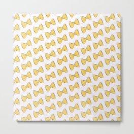 Pasta bow Metal Print