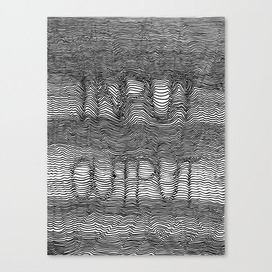 InputOutput Canvas Print