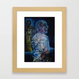 Mindfuck in infinite dimensions Framed Art Print