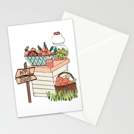 Apple Stand Stationery Cards