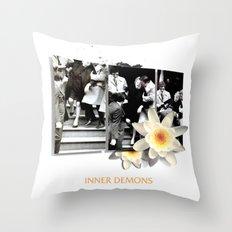 Inner Demons Throw Pillow