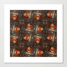Salad Spinner Pattern Canvas Print