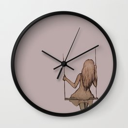 Swings Wall Clock