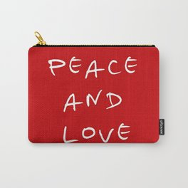Peace and love 4 Carry-All Pouch