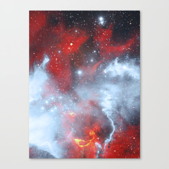 Fire to the Stars Canvas Print