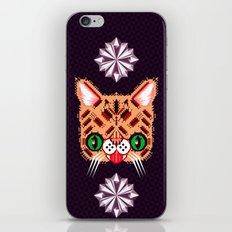 Lil Bub Geometric Pattern iPhone & iPod Skin