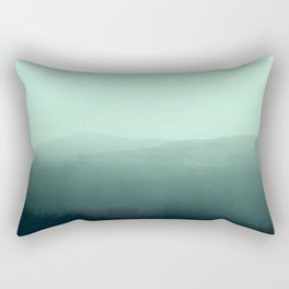 The Endless Mountains Rectangular Pillow