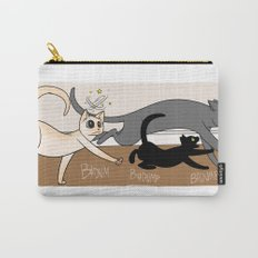 Furred Frenzy - Cat Rampage Carry-All Pouch
