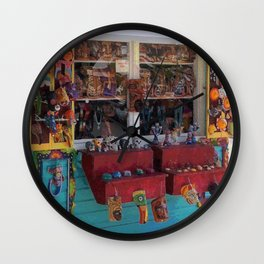 Colorful Key West Wall Clock