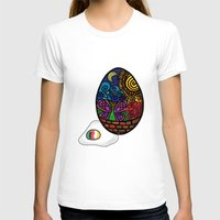 egg T-shirts featuring Egg by glorya