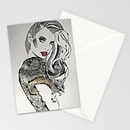 To try and make amends Stationery Cards