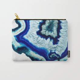 Inkdrop Agate slice Carry-All Pouch