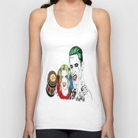 wrestling Tank Tops featuring Arm wrestling by nullone36
