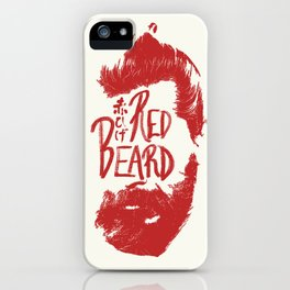 Red Beard iPhone Case