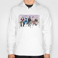 breakfast club Hoodies featuring The Breakfast Club by DJayK