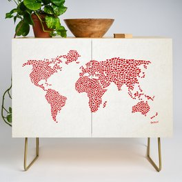 Love, You Are My World Credenza