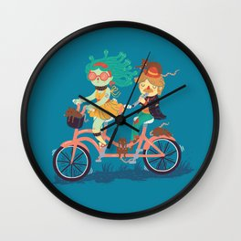 Medusa & The Pied Piper Wall Clock