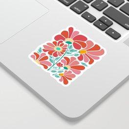 The Happiest Flowers III Sticker