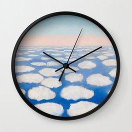 Georgia O'Keeffe Above the Clouds Wall Clock