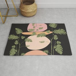 Monstera, You're Kidding Rug