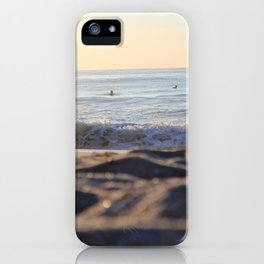 Surfers in the Morning Light iPhone Case