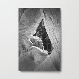 The Statue Metal Print