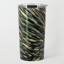 Echidna spines closeup Travel Mug