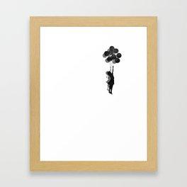 Banksy Fly Away  Framed Art Print