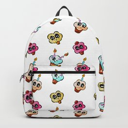 Cup Cake Surprise! Cartoon Pattern Backpack