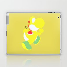 Yoshi(Smash)Yellow Laptop & iPad Skin