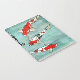Le ballet des carpes koi Notebook