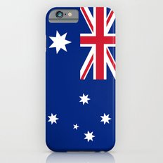 The National flag of Australia, authentic version (color & scale 1:2) iPhone 6s Slim Case