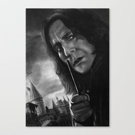 Alan Rickman Canvas Print