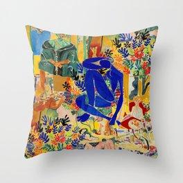Matisse el Henri Throw Pillow
